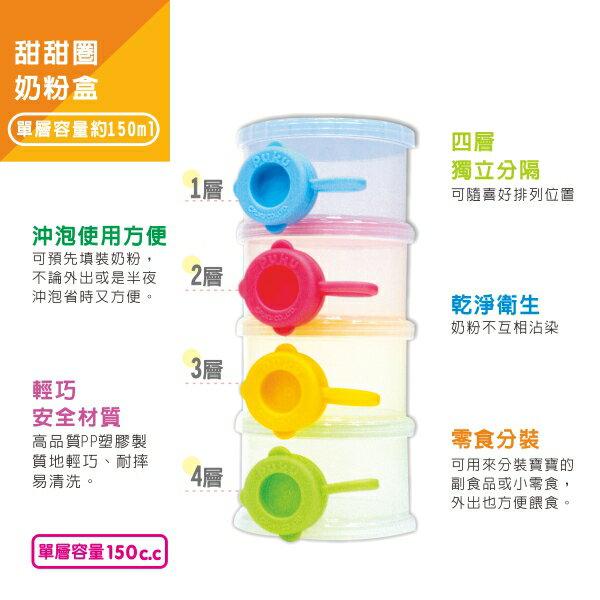 『121婦嬰用品館』PUKU 甜甜圈奶粉盒 4