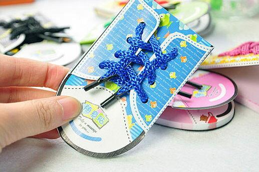PS Mall╭*韓版文具超可愛鞋子造型N次貼 便利貼 便條紙【J678】