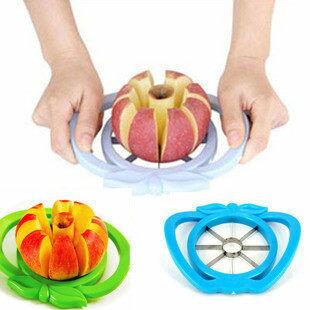PS Mall╭*優質款不繡鋼材質切果器 輕鬆切出八瓣蘋果 切水果器 開果器 水果分片器 【J091】
