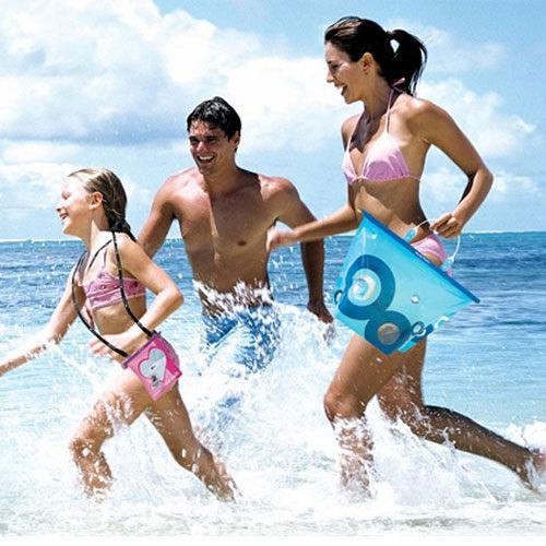 PS Mall╭~出外旅遊 品 海洋風手機防水袋 密封袋 相機手提包~J204~ ~  好