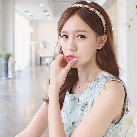 PS Mall╭~韓劇珍珠水滴鑽石耳環 耳針 一對~G1011~ ~  好康折扣