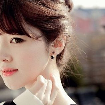 PS Mall 韓版熱賣  典雅氣質後掛式兩用耳環 耳針 一對【G910】