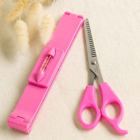 PS Mall 剪瀏海神器!齊瀏海修剪工具套裝 造型瀏海剪 韓國DIY美髮工具【H039】