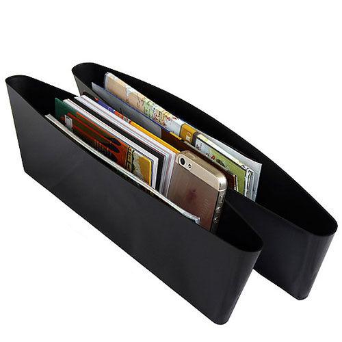 PS Mall 汽車用置物多 收納盒 儲物雜物整理收納箱收納殼 一組兩個 ~J075~ ~