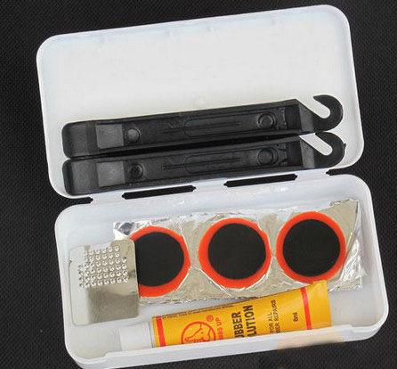 PS Mall╭*腳踏車工具 自行車補胎套裝 單車補胎組合工具 補胎盒【J2018】