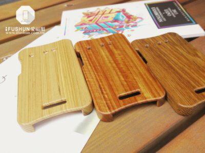 iFUSHUN Wooden case for HTC Butterfly 蝴蝶機原木保護殼 木作殼 實木手機殼