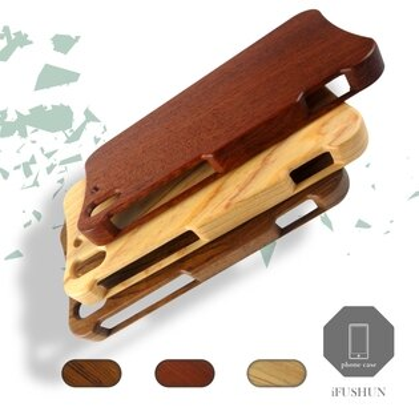iFUSHUN Wooden case for HTC EYE 手機殼 實木手機殼 原木手機殼 木作殼