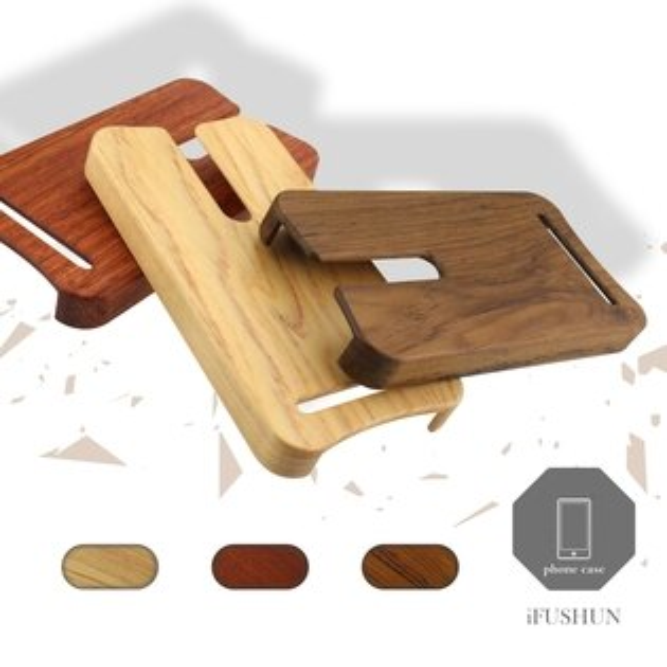 iFUSHUN Wooden case for Asus ZenFone2 手機殼 實木手機殼 原木手機殼 木作殼