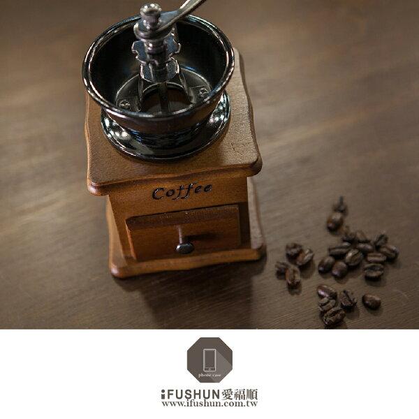 iFUSHUN 手搖咖啡豆磨豆機 咖啡豆研磨機 磨豆機 (陶瓷機芯磨盤)