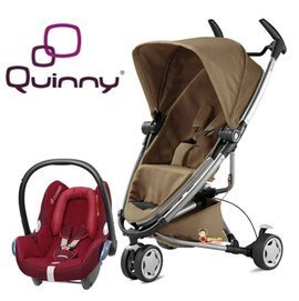 *babygo*Quinny Zapp Xtra2 2015 嬰兒手推車【咖啡】+贈Maxi-Cosi提籃(顏色隨機)