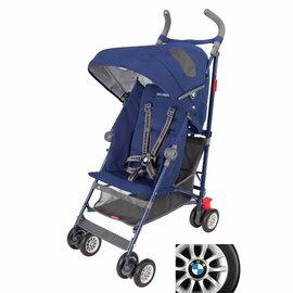 *babygo*Maclaren 瑪格羅蘭 BMW 經典嬰兒推車【藍】