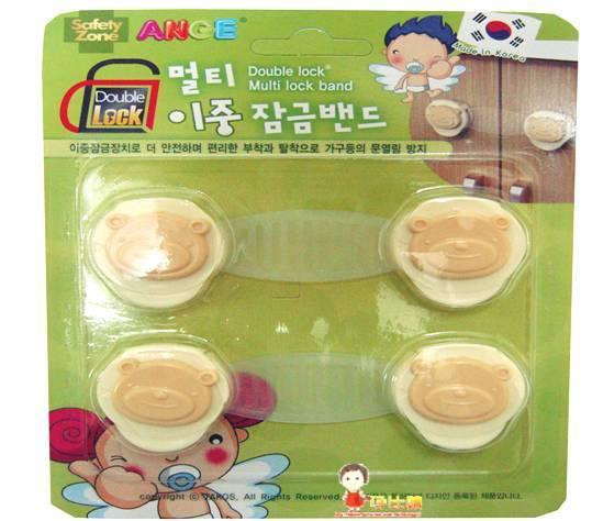 *babygo*韓國ANGE雙重安全鎖扣-2入