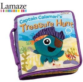 *babygo*Lamaze拉梅茲嬰幼兒玩具-海底尋寶記布書LC27902