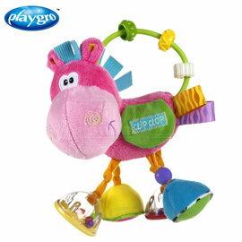 ~babygo~ Playgro粉紅小馬搖鈴 ~  好康折扣