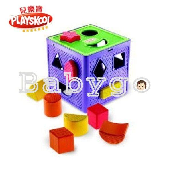 *babygo*兒樂寶 PLAYSKOOL積木益智盒