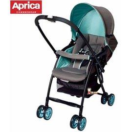 *babygo*愛普力卡Aprica-Karoon 629輕量雙向平躺型嬰幼兒手推車【繽紛綠】贈尿布處理器