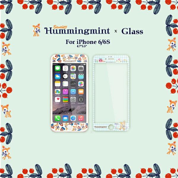 iPhone 6 6s 4.7吋 / Plus 5.5吋 9H正版三麗鷗 哈妮鹿 滿版 全屏 浮雕鋼化玻璃 手機螢幕保護貼