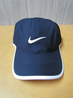 Nike FeatherLight 黑藍運動帽