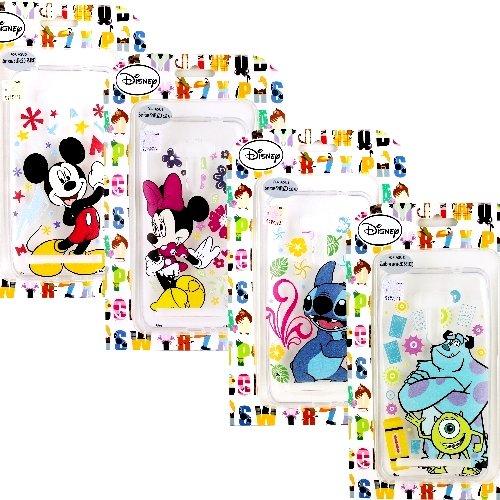 【Disney】ASUS Zenfone Selfie (ZD551KL) 花朵系列 彩繪透明保護軟套