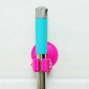 吸盤式多功能收納夾 拖把雨傘掃帚雜物 #NH010013