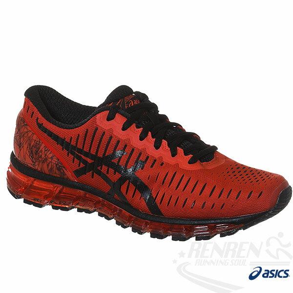 ASICS亞瑟士 男慢跑鞋 GEL-QUANTUM 360  (紅黑) 2016新品 舒適流行