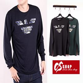 CS衣舖 質感萊卡 彈性布料 長袖T恤 8633 - 限時優惠好康折扣