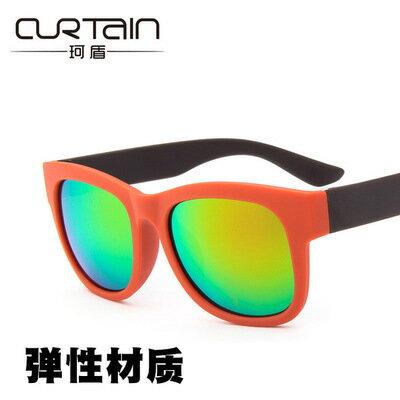 50%OFF【J014217GLS】經典彈性質感時尚太陽鏡潮流時尚墨鏡太陽眼鏡女士百搭蛤蟆鏡附眼鏡盒