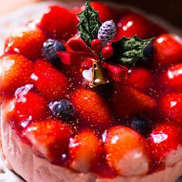 全台唯一!大湖高山草莓融心乳酪(6吋)