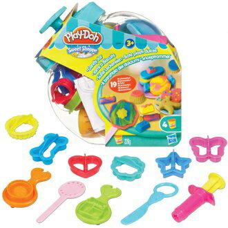 《★ 美國培樂多 PLAY-DOH》 糖果罐遊戲組 全台最低價 美國購入 兒童安全黏土