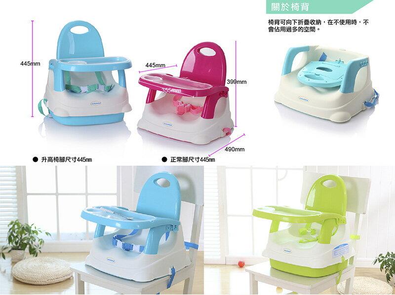 『121婦嬰用品館』傳佳知寶 babyhood 咕咕餐椅-湖藍 (附透明餐盤) (附透明餐盤) 5