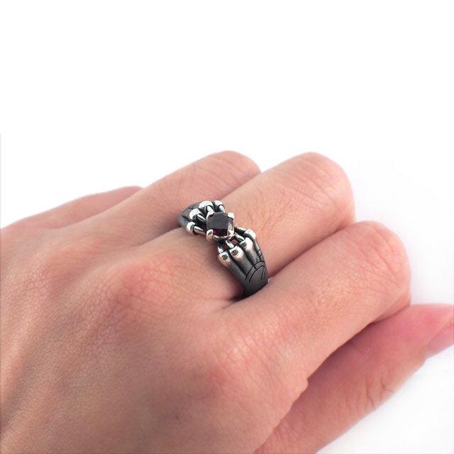 【現貨商品】【Bloody Mary】Aslan 阿斯蘭獅爪純銀戒指 石榴石(BMR1386-G) 0