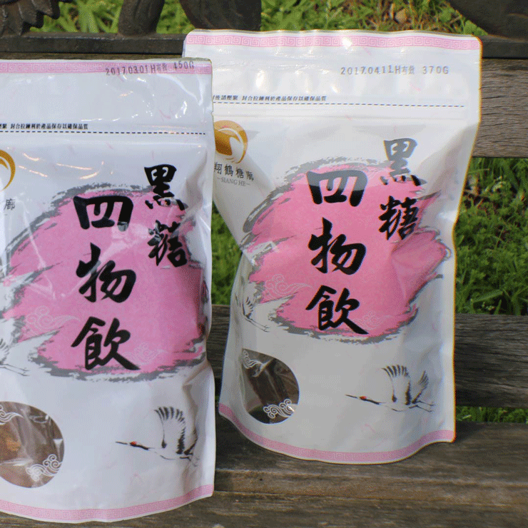 【翔鶴糖廓】黑糖四物飲(大顆,370g) 4