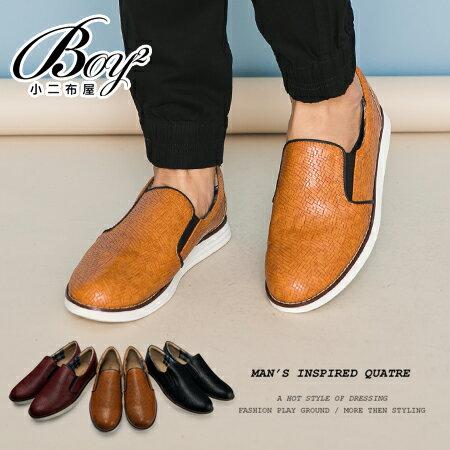 ☆BOY-2☆【NKP-FTP08】休閒皮革質感懶人鞋 0