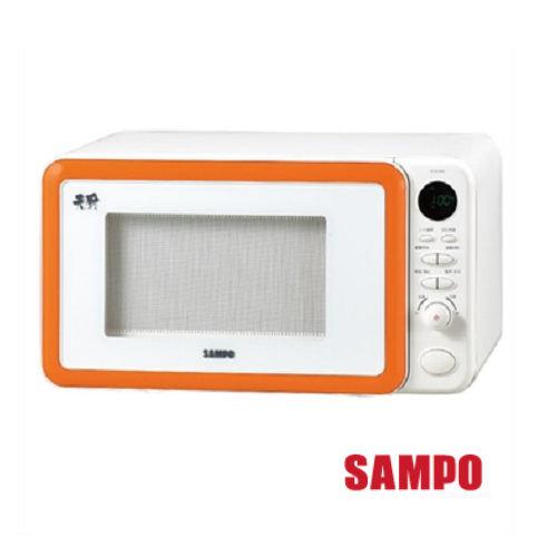 ◤A級福利品‧數量有限◢ SAMPO 聲寶 23公升天廚平台式微波爐 RE-N323PM