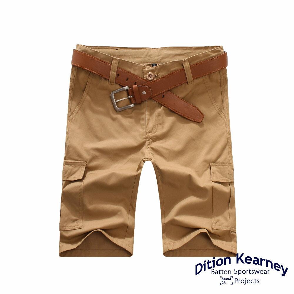 DITION   日系機能口袋outdoor工作短褲 素色 滑板 1