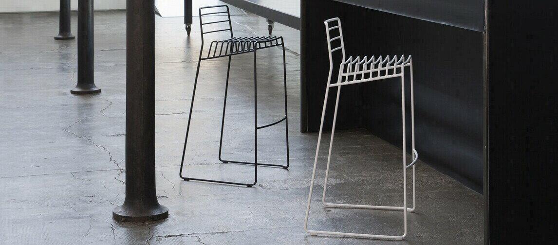 義大利B-Line Park S(Design by Neuland Paster & Geldmacher 2014)椅 鋼絲吧檯椅高77公分 0