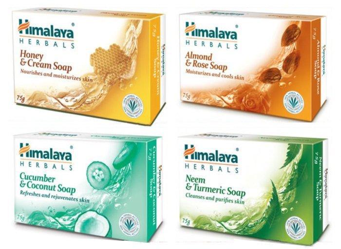 印度 喜馬拉雅 HIMALAYA 保濕香皂 125g (苦楝薑黃/黃瓜椰子/杏仁玫瑰/乳霜蜂蜜) ☆真愛香水★ 另有牙膏/MEDIMIX