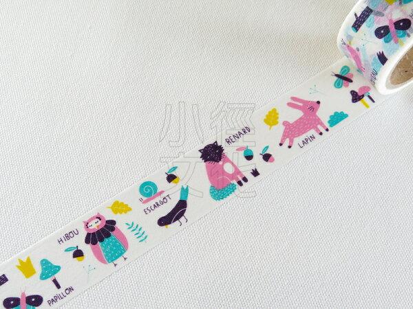 *小徑文化*日本進口 Aimez le style 2014ss 和紙膠帶 - Animal ( JAN 3423 )
