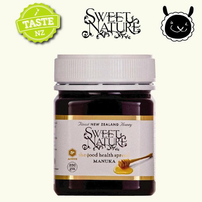 【壽滿趣】Sweet Nature - 紐西蘭進口活性麥蘆卡Manuka蜂蜜 MGO200+ (250gmx1 瓶) 0