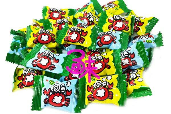 (台灣) 綠得小螃蟹 泡泡樂可樂汽水糖 1包 600 公克 (約 95顆) 特價 79 元 (硬糖 拜拜節慶用糖 婚禮用糖 聖誕糖 喜糖 活動用糖 不到1元糖果)