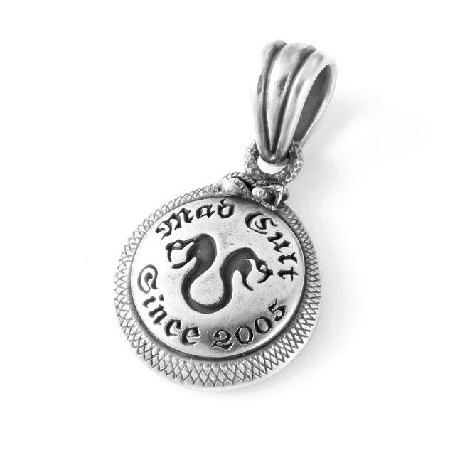 【海外訂購】【MAD CULT】雙頭蛇圖騰純銀墜飾 (MAD-PT-44  0815200000) 0