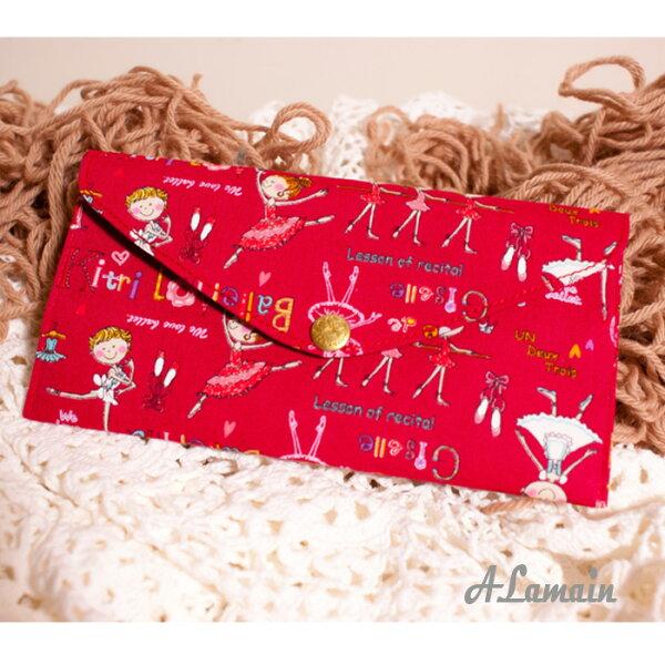 艾拉蔓_芭蕾女孩(1)嚴選日本進口布紅包袋、手創錢袋、手作收藏袋,送禮自用_采靚精品鞋飾