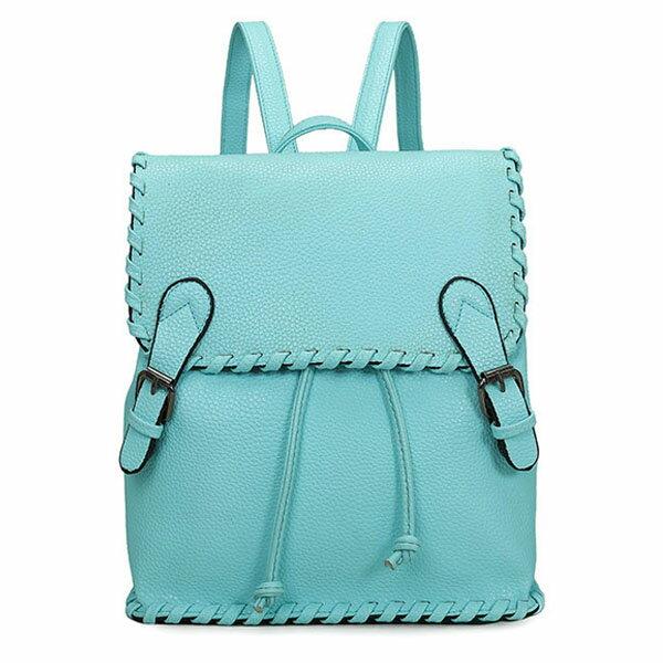 後背包-編織磁扣後背包-共3色-6036- J II