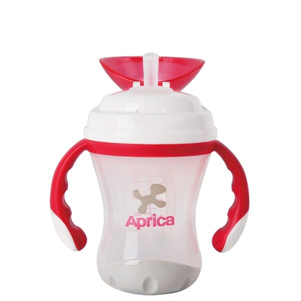 Aprica愛普力卡 - 軟管掀蓋喝水練習杯 STEP 3 3