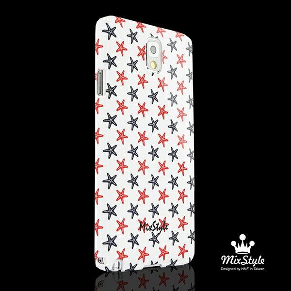 三星Galaxy NOTE3/N9000 夏日海星印花手機殼☆Malinovskaya Yulia設計款☆【II002_N3】