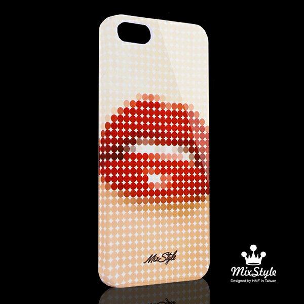 【限量19折】IPhone5/5S 誘惑紅唇印花手機殼☆Barracuda Studio設計款☆【II042_I5】