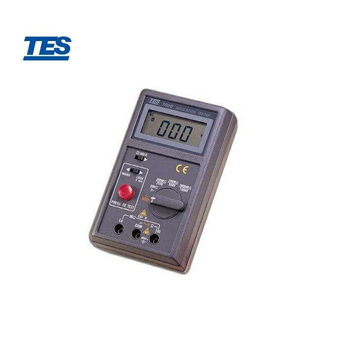 泰仕 TES-1600 (高阻計)數位式絕緣測試器 0