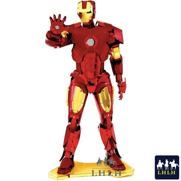 IRON MAN 鋼鐵人 金屬模型 禮物 立體拼圖 【現貨】