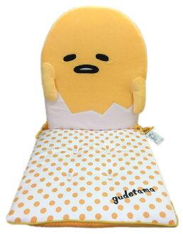 【真愛日本】16082700025造型坐墊-GU黃點白三麗鷗家族 蛋黃哥 Gudetama 靠墊 坐墊 居家用品