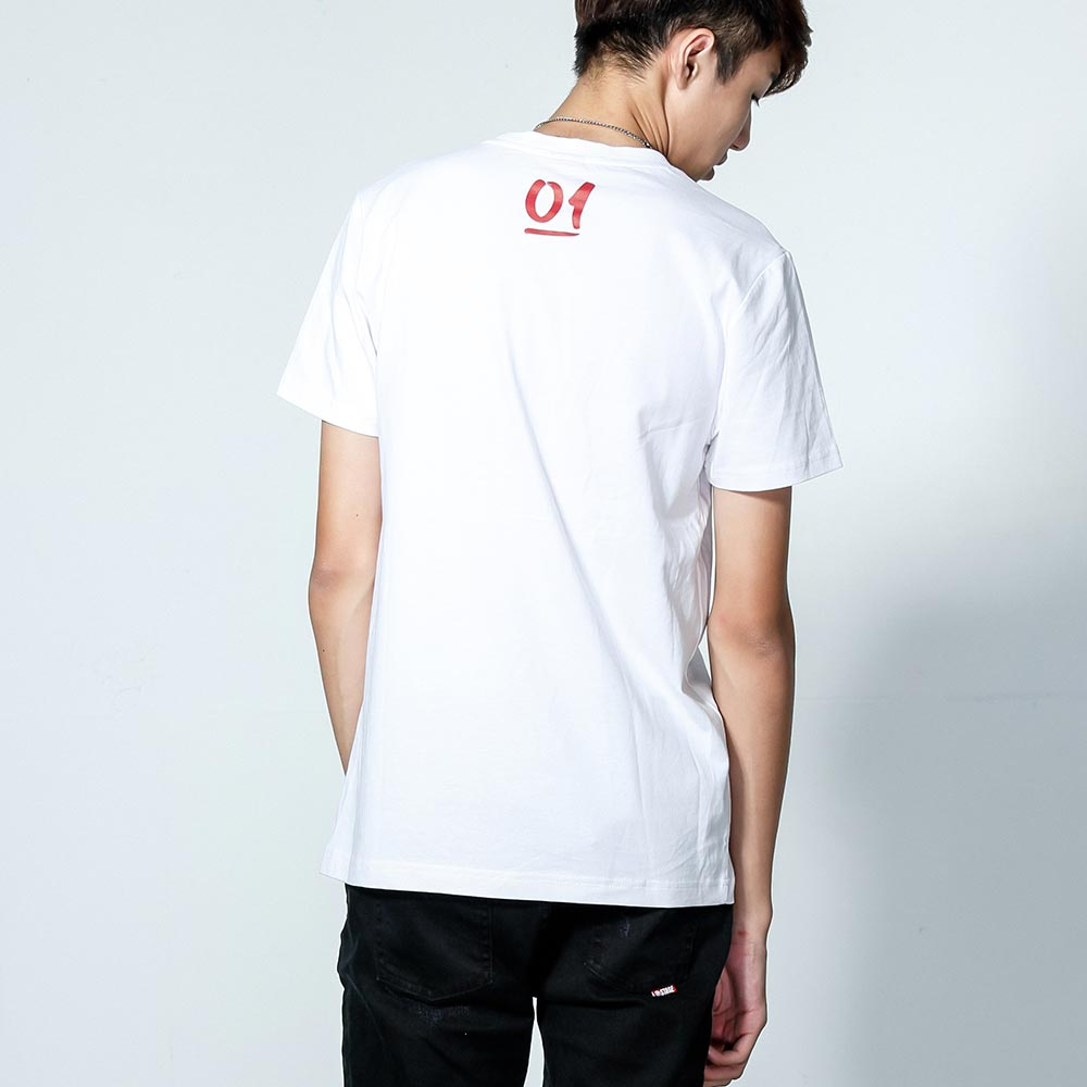 STAGEONE ONE & ONLY BRUSH TEE 黑色 / 白色 兩色 3